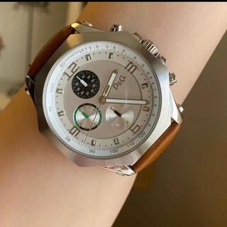 DOLCE&GABBANA - dolce&gabbana腕時計 稼働中 極美品 新品ベルト D&G