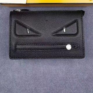 フェンディ(FENDI)のFENDI CLUTCH SLIM BLACK +PALLADIUM(セカンドバッグ/クラッチバッグ)