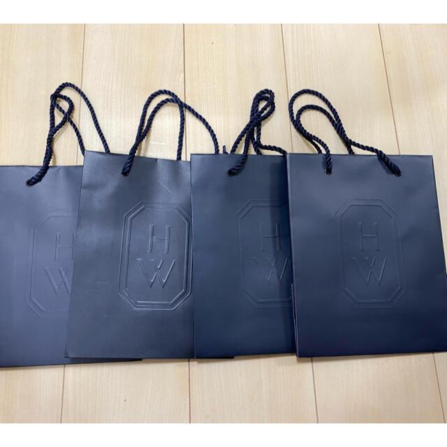 HARRY WINSTON(ハリーウィンストン)のHarry Winstonの紙袋4枚セット✨ レディースのバッグ(ショップ袋)の商品写真