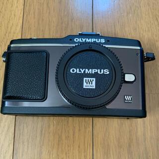 OLYMPUS - 【良品】【ボディのみ】OLYMPUS E−P E-P2BLACK