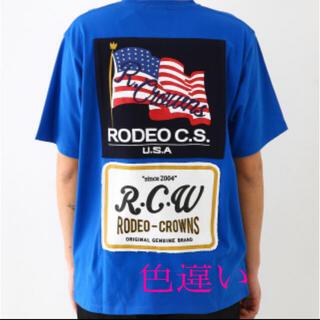 ロデオクラウンズワイドボウル(RODEO CROWNS WIDE BOWL)のロデオクラウンズ メニータグTシャツ(Tシャツ/カットソー(半袖/袖なし))