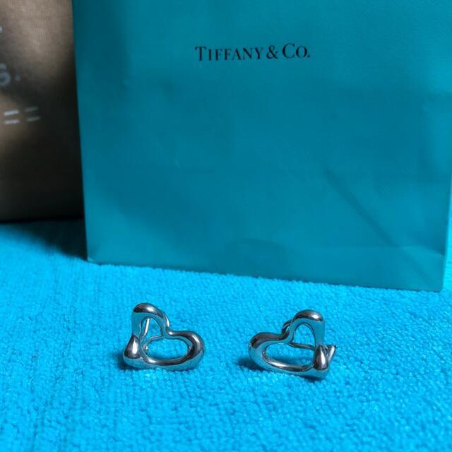 Tiffany & Co.(ティファニー)のティファニー☆オープンハートイヤリング☆レディース レディースのアクセサリー(イヤリング)の商品写真