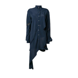 rokhのアシンメトリーロングシャツ