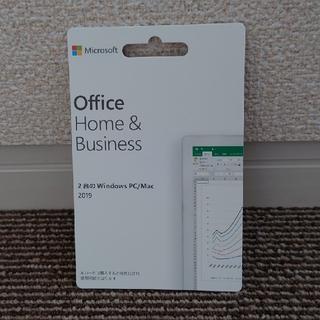 マイクロソフト(Microsoft)のOffice Home & Business 2019 2台PC カード版 新品(その他)