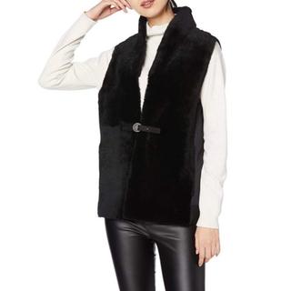 ダブルスタンダードクロージング(DOUBLE STANDARD CLOTHING)のダブスタ❣️新品❣️タイムセール❣️SOV. ムートンダンボールニットベスト(ベスト/ジレ)