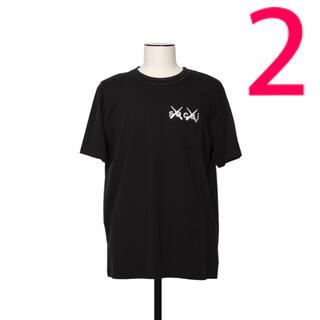 sacai - sacai x KAWS / Embroidery Tシャツ サカイ カウズ