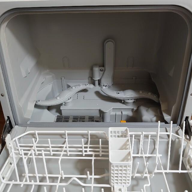 Panasonic(パナソニック)のPanasonic プチ食洗 NP-TCR4-W パナソニック 食洗機 2019 スマホ/家電/カメラの生活家電(食器洗い機/乾燥機)の商品写真