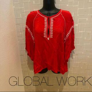グローバルワーク(GLOBAL WORK)の43*GLOBAL WORK♡ブラウス(シャツ/ブラウス(半袖/袖なし))