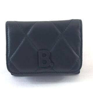 Balenciaga - BALENCIAGA バレンシアガ Bロゴ 三つ折りコンパクト財布 617781
