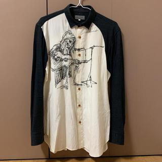 Yohji Yamamoto - Yohji Yamamoto  16SS デッサンシャツ