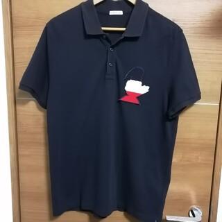 モンクレール(MONCLER)のMONCLER モンダック ビッグロゴワッペン トリコ 半袖ポロシャツ(ポロシャツ)