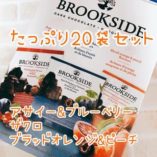 コストコ(コストコ)のブルックサイドチョコレートアソート❤︎3種(20袋)セット(菓子/デザート)