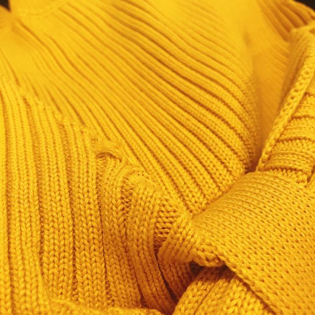 Ameri VINTAGE(アメリヴィンテージ)のAmeri VINTAGE MEDI SWAY RIB KNIT レディースのトップス(ニット/セーター)の商品写真