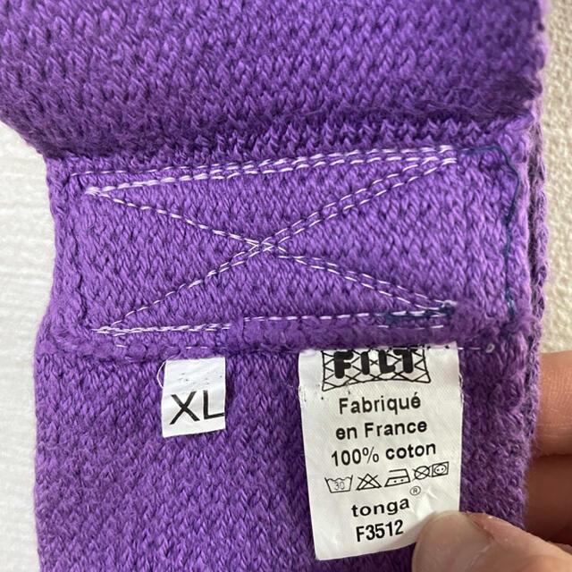 tonga(トンガ)のトンガ 抱っこ紐 xl 紫 パープル キッズ/ベビー/マタニティの外出/移動用品(抱っこひも/おんぶひも)の商品写真