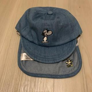 petit main - プティマイン  スヌーピー  キャップ 帽子 48