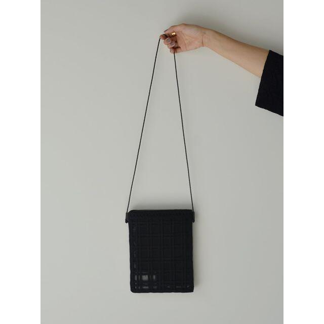 mame(マメ)のMame Kurogouchi Cording Embroidery Pouch レディースのバッグ(ショルダーバッグ)の商品写真