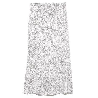 snidel - SNIDEL ラインフラワーナロースカート