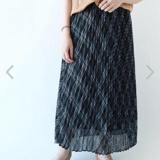 テチチ(Techichi)のテチチ シアーチェックプリーツスカート(ロングスカート)