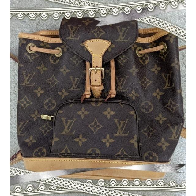 LOUIS VUITTON(ルイヴィトン)のLOUIS*VUITTON❥·・ミニモンスリ レディースのバッグ(リュック/バックパック)の商品写真