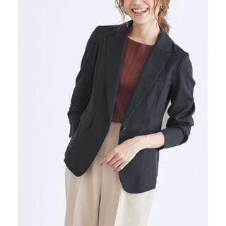 スーツカンパニー(THE SUIT COMPANY)のPierrotシングルボタンジャケット/テーラードジャケット/スーツ/黒(テーラードジャケット)