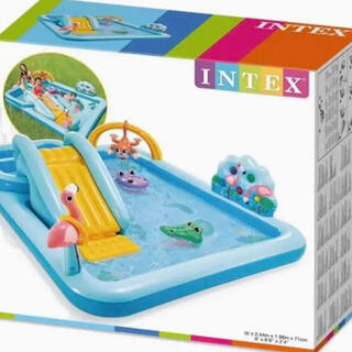 【送料込み】INTEX ジャングルアドベンチャー プレイセンター プール