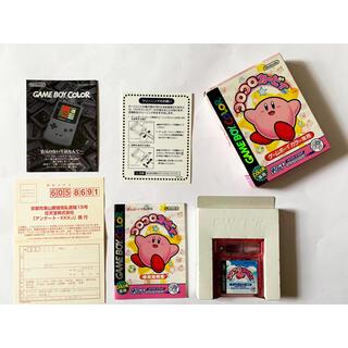 ゲームボーイ(ゲームボーイ)のゲームボーイカラー コロコロカービィ GBC GameBoy Color(携帯用ゲームソフト)