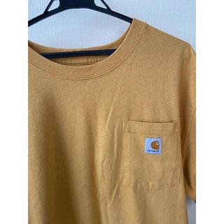 carhartt - carhartt カーハート 黄色 イエロー 半袖 Tシャツ 古着