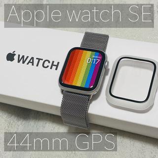 アップル(Apple)の【美品】Apple watch SE 44mm ♡おまけ付き♡(腕時計(デジタル))