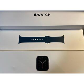 アップルウォッチ(Apple Watch)のApple Watch se 40mm (GPS)スペースグレー(腕時計(デジタル))