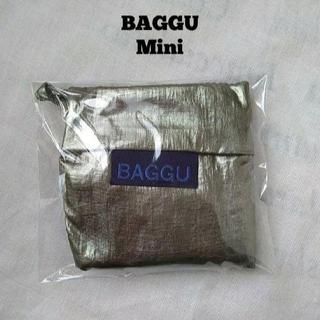 ロンハーマン(Ron Herman)の新品未使用正規品BAGGU (バグゥ)エコバッグMini ミニメタリッ(エコバッグ)