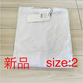 sacai - sacai × kaws Tシャツ size2 white × white