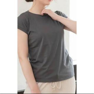 グレイル(GRL)の【新品未使用】スムースシンプル Tシャツ(Tシャツ(半袖/袖なし))