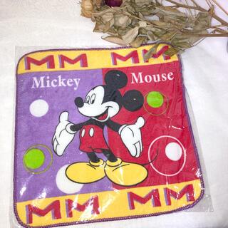ディズニー(Disney)の【新品未使用】ミッキーのハンカチ(日用品/生活雑貨)