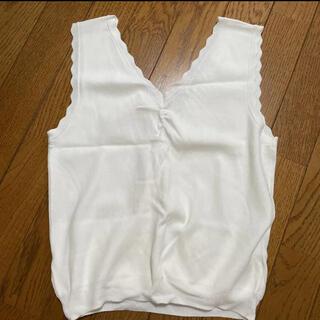 ココディール(COCO DEAL)のcocodeal ノースリーブ(カットソー(半袖/袖なし))