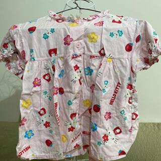 ハローキティ(ハローキティ)のキティーちゃんパジャマ上のみ 130(パジャマ)