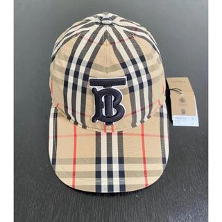 バーバリー(BURBERRY)の【新品】BURBERRY バーバリー BASEBALL CAP TBロゴキャプ(キャップ)