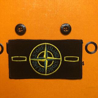 ストーンアイランド(STONE ISLAND)の新品!ストーンアイランド ワッペン&ボタンセット(Tシャツ/カットソー(半袖/袖なし))