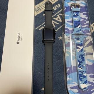 Apple Watch - アップルウォッチ series3 GPSモデル 42㎜