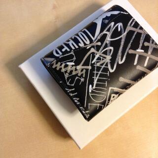 Maison Martin Margiela - 新品 19aw マルジェラ 三つ折り財布 グラフィティ 黒 617