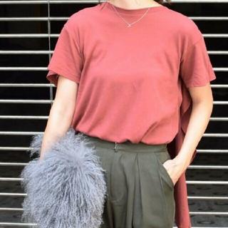 Ameri VINTAGE - Ameri VINTAGEアシンメトリー tシャツアメリレンガ