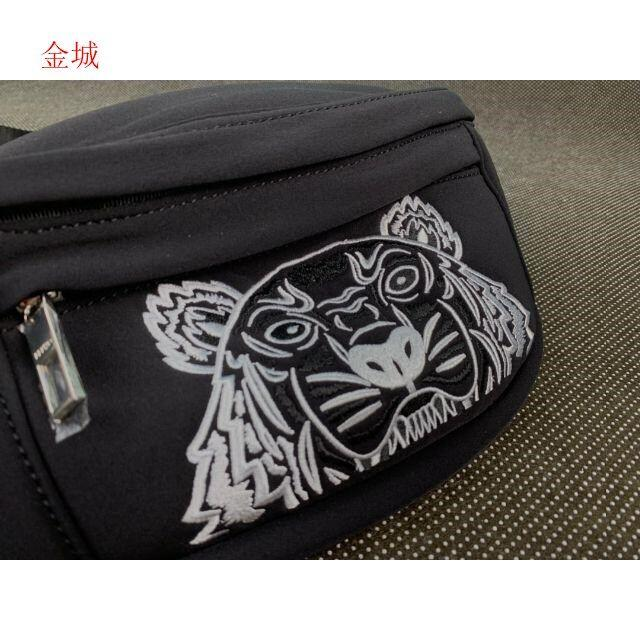 新品未使用 KENZO ケンゾー ウエストポーチ メッセンジャーバッグq メンズのバッグ(メッセンジャーバッグ)の商品写真