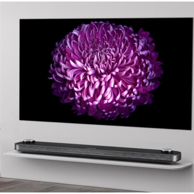 LG Electronics(エルジーエレクトロニクス)の最安値!!有機ELテレビ☆OLED65W7Pパネル新品フィルム剥がし無し☆65V スマホ/家電/カメラのテレビ/映像機器(テレビ)の商品写真