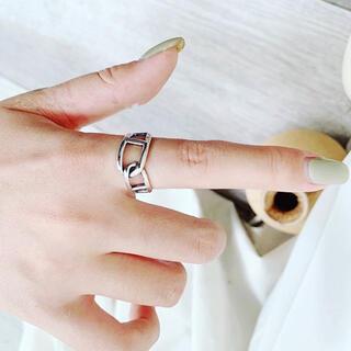トゥデイフル(TODAYFUL)のデザインリング シルバーリング 新(リング(指輪))