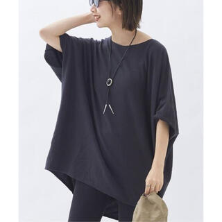 Plage - Plage◆sweat drape Tシャツ グレー