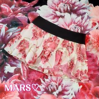 マーズ(MA*RS)のMARS♡激レア🎀ベルバラプリントスカート♥️💖新品タグ付💖໒꒱⋆゚(ミニスカート)