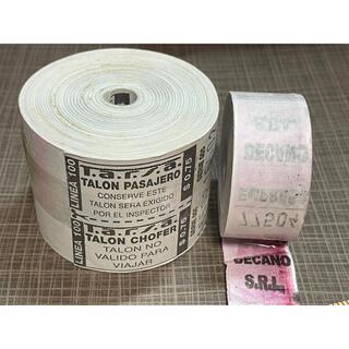 A.アルゼンチンロールチケット 2ロール(印刷物)