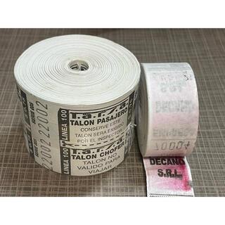 B.アルゼンチンロールチケット 2ロール(印刷物)