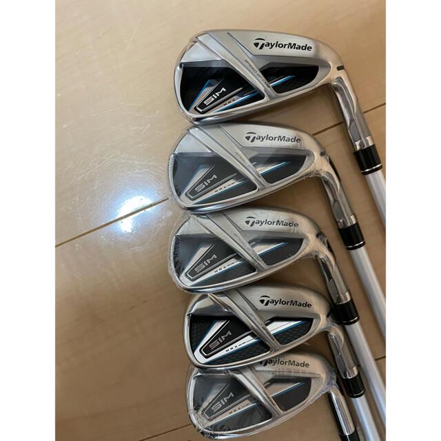 TaylorMade(テーラーメイド)の1時間値下げほぼ新品 レディースSIMMAXアイアンセット  スポーツ/アウトドアのゴルフ(クラブ)の商品写真