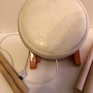Wii - 太鼓の達人Wiiの太鼓のみ おまけ、お祭りのバチ