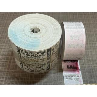 C.アルゼンチンロールチケット 2ロール(印刷物)